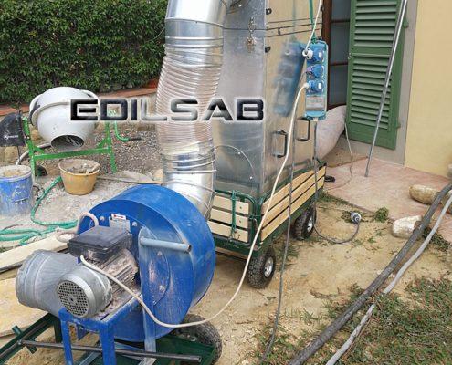 Impianto aspirazione EDILSAB