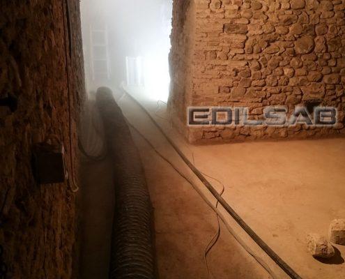 Tubazione impianto aspirazione
